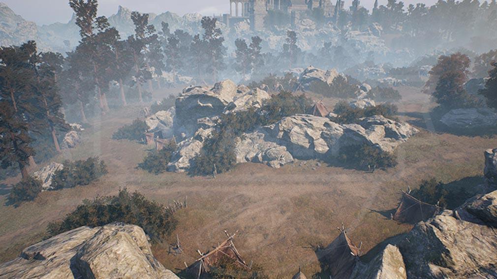 リネージュ2M(Lineage2M)リネツー 『略奪者の野営地』スクリーンショット