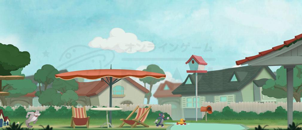 トムとジェリーチェイスチェイス マップ『クラシックハウス』紹介イメージ