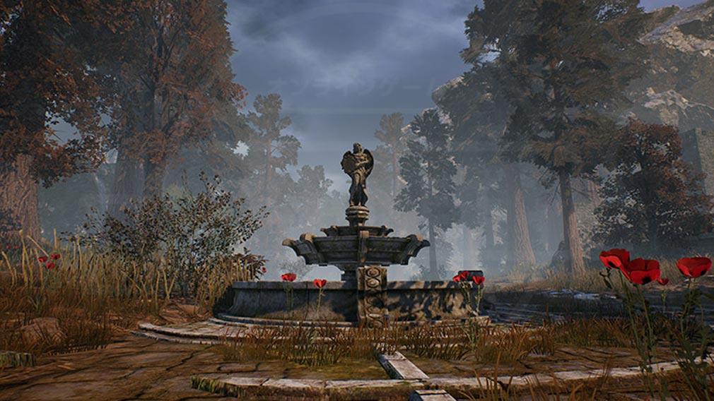 リネージュ2M(Lineage2M)リネツー 『メデューサの庭園』スクリーンショット
