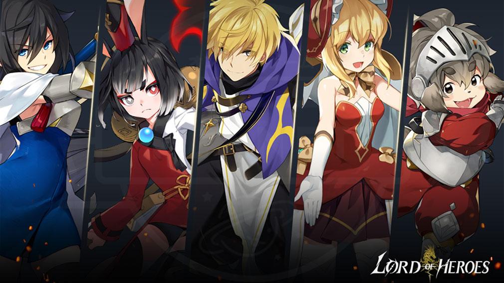 Lord of Heroes(ロードオブヒーローズ)ロドヒロ キャラクター収集紹介イメージ