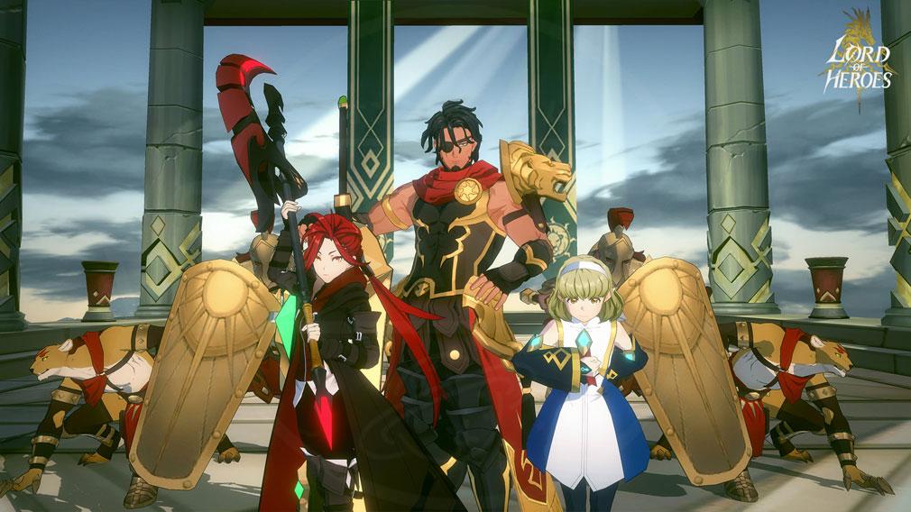 Lord of Heroes(ロードオブヒーローズ)ロドヒロ 英雄登場のシナリオスクリーンショット