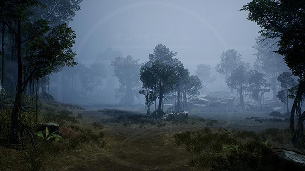 リネージュ2M(Lineage2M)リネツー 『クルマ湿地』スクリーンショット