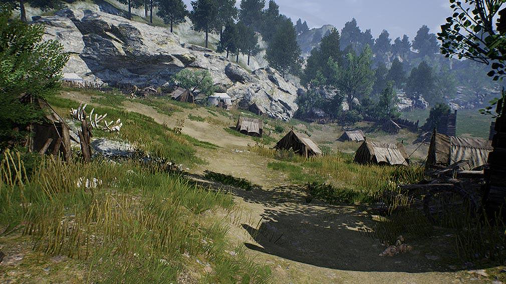 リネージュ2M(Lineage2M)リネツー 『棄てられた露営地』スクリーンショット