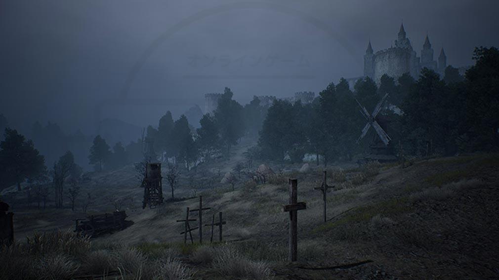 リネージュ2M(Lineage2M)リネツー 『悲嘆の廃墟』スクリーンショット