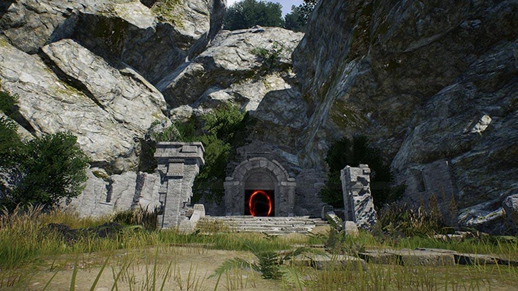 リネージュ2M(Lineage2M)リネツー 『棄てられた神殿(ダンジョン)』スクリーンショット