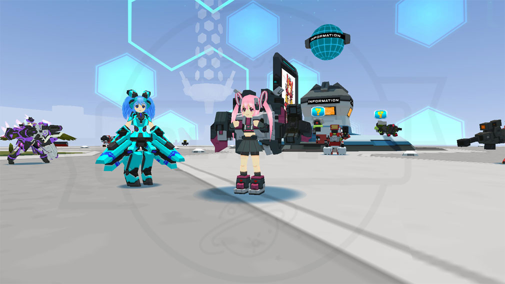 CosmicBreak Universal(コズミックブレイク ユニバーサル)CBUNI 『ロボ』や『ヒューマノイド』スクリーンショット