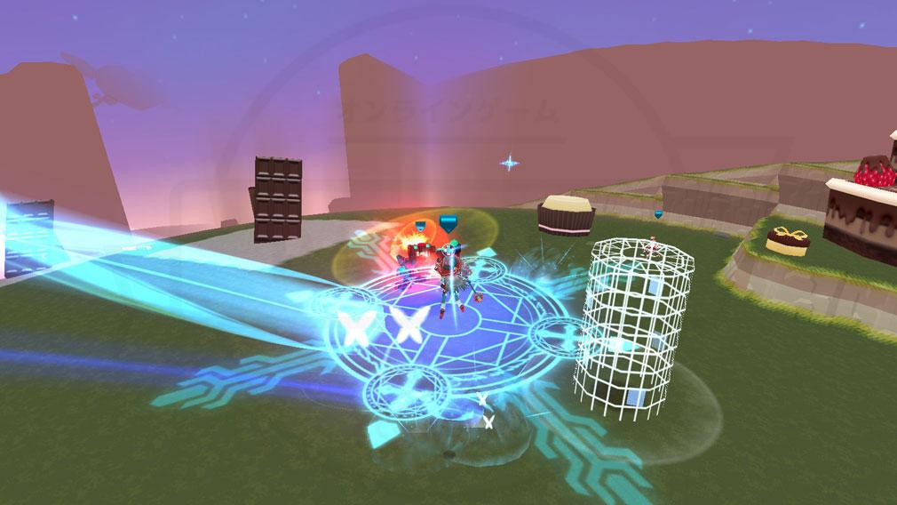 CosmicBreak Universal(コズミックブレイク ユニバーサル)CBUNI 大規模バトルシューティングスクリーンショット