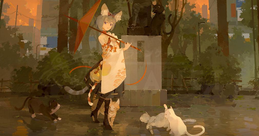 終末のアーカーシャ(終アカ) キャラクター『ネコ』紹介イメージ