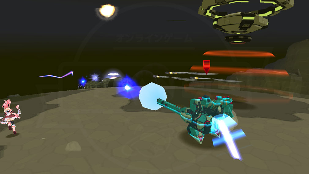 CosmicBreak Universal(コズミックブレイク ユニバーサル)CBUNI 『ロボ』バトルスクリーンショット