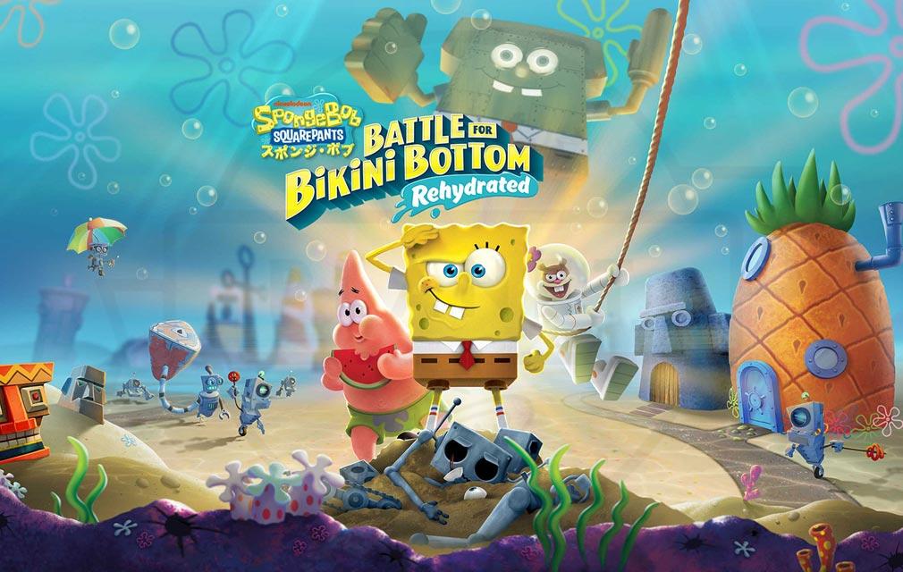 スポンジ・ボブ Battle for Bikini Bottom キービジュアル