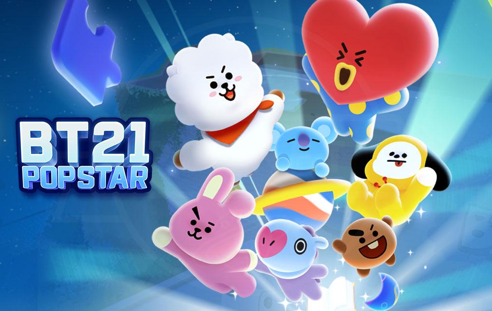 BT21 POP STAR(BT21ポップスター) キービジュアル