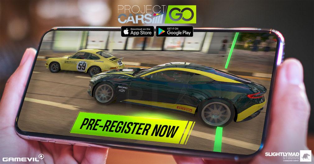 Project CARS GO キービジュアル