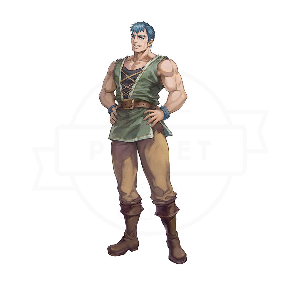 イース6 Online ナピシュテムの匣(Ys6) キャラクター『ドギ』紹介イメージ