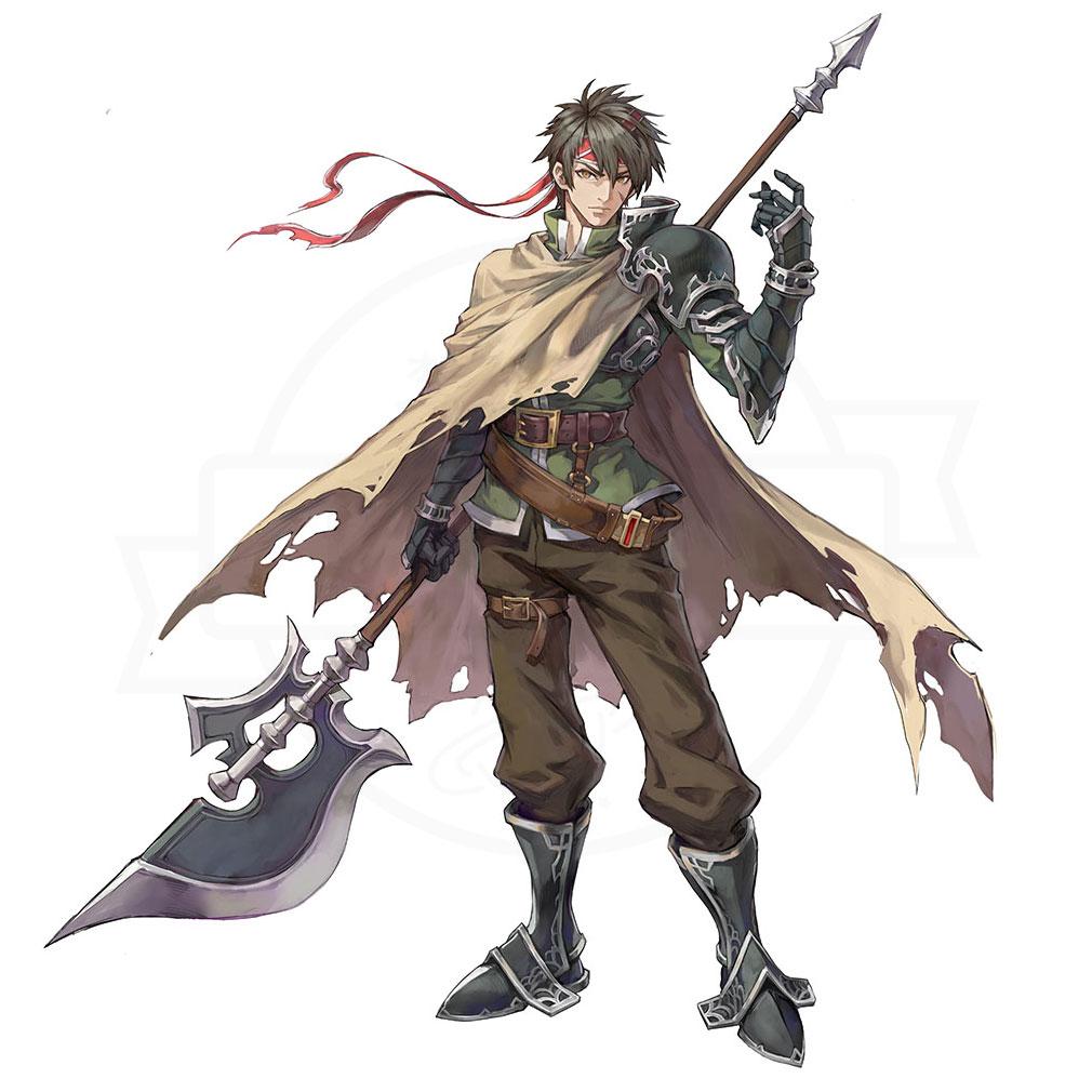 イース6 Online ナピシュテムの匣(Ys6) キャラクター『ガッシュ』紹介イメージ