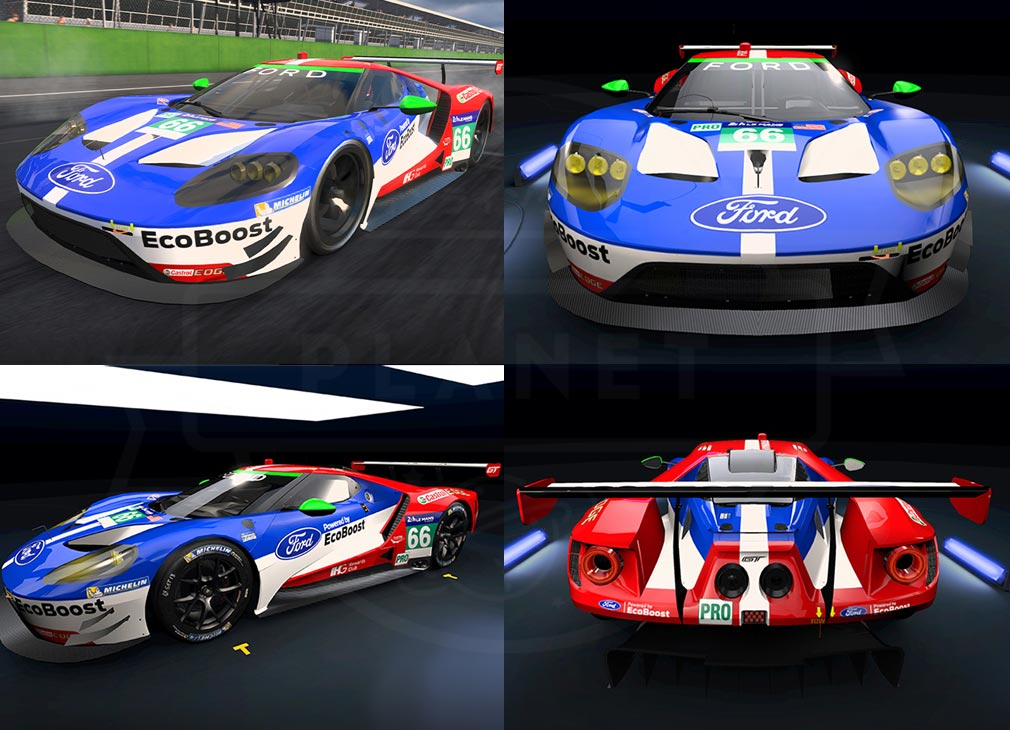 Project CARS GO 車種『フォード GT LM GTE』紹介イメージ