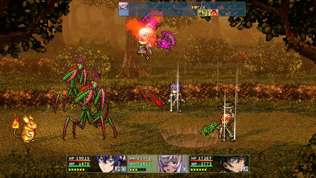 エルピシアの魔剣少女 『魔剣』を用いた高精細バトルスクリーンショット