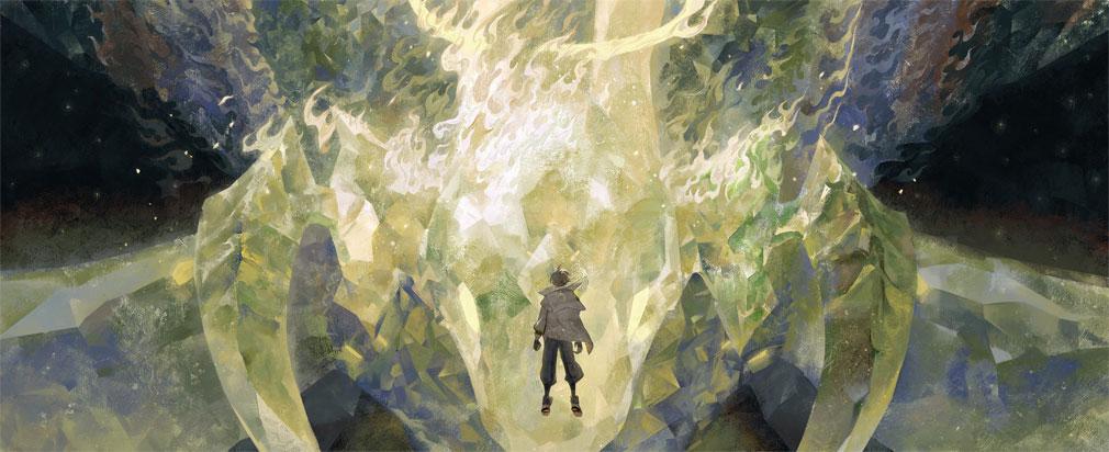 白夜極光 世界観『巨像と少年』紹介イメージ