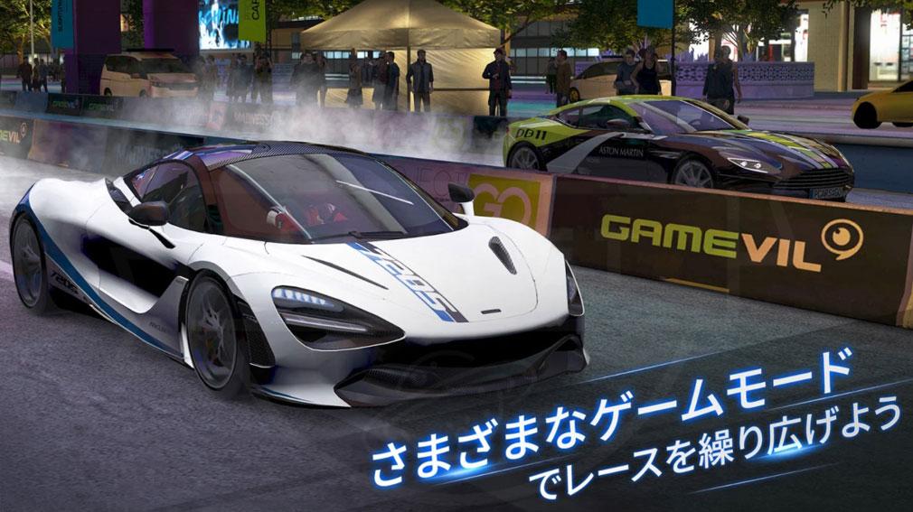 Project CARS GO ゲームモード紹介イメージ