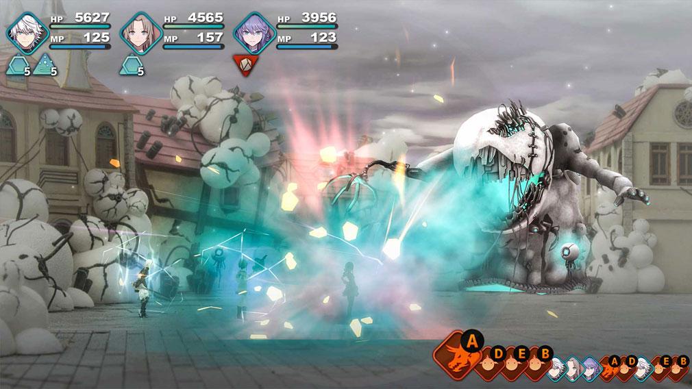 FANTASIAN(ファンタジアン) ゲーム内『フィールドバトル』スクリーンショット