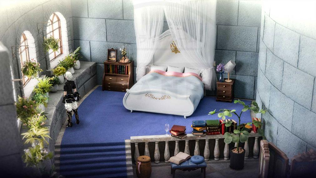 FANTASIAN(ファンタジアン) ジオラマで制作した部屋をゲーム内フィールドにしたスクリーンショット