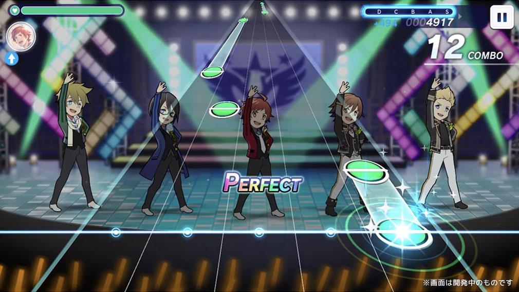アイドルマスターSideM GROWING STARS ライブスクリーンショット