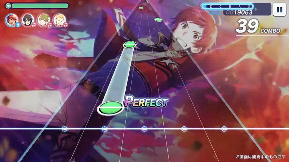アイドルマスターSideM GROWING STARS 豪華な2Dアニメーション付スキル演出スクリーンショット