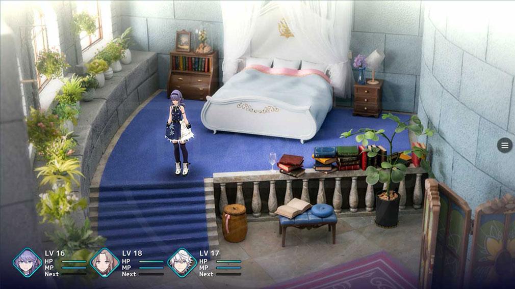 FANTASIAN(ファンタジアン) ジオラマで制作した部屋をゲームに落とし込んだスクリーンショット