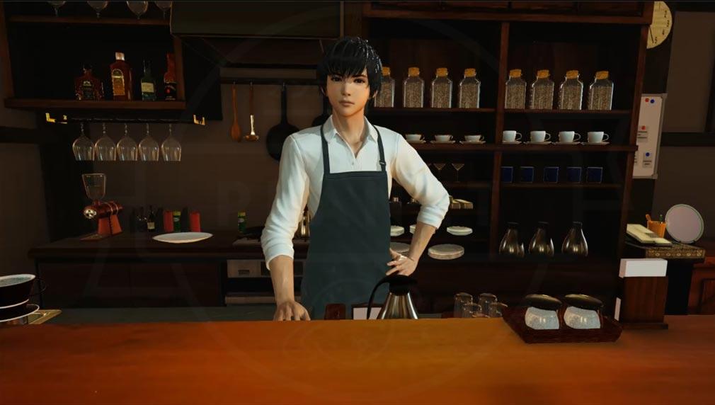 VRカレシ 『稲波 アキト』がお店で迎えてくれる紹介イメージ