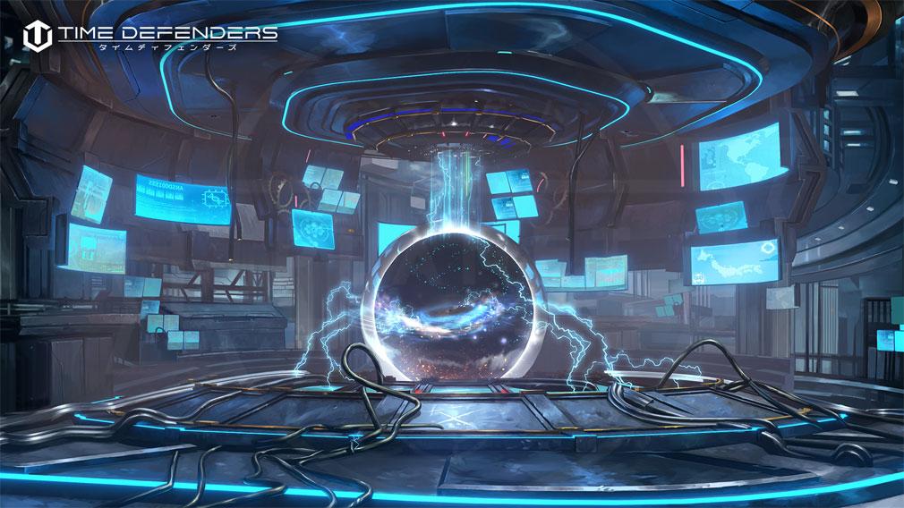 TIME DEFENDERS(タイムディフェンダーズ)TDFS 世界観『時空エネルギー』紹介イメージ