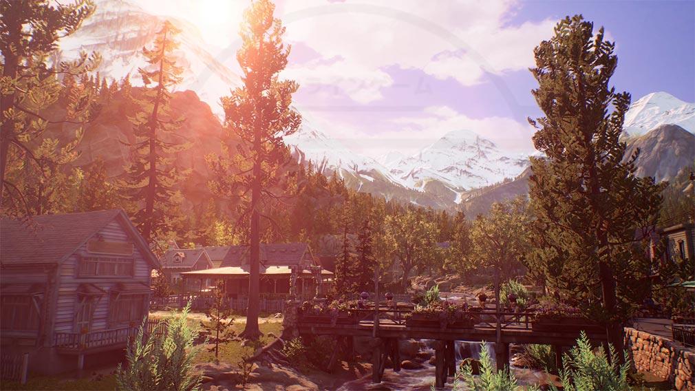 Life is Strange TRUE COLORS(ライフ イズ ストレンジ) コロラドの山奥の『ヘイブンスプリングス』スクリーンショット