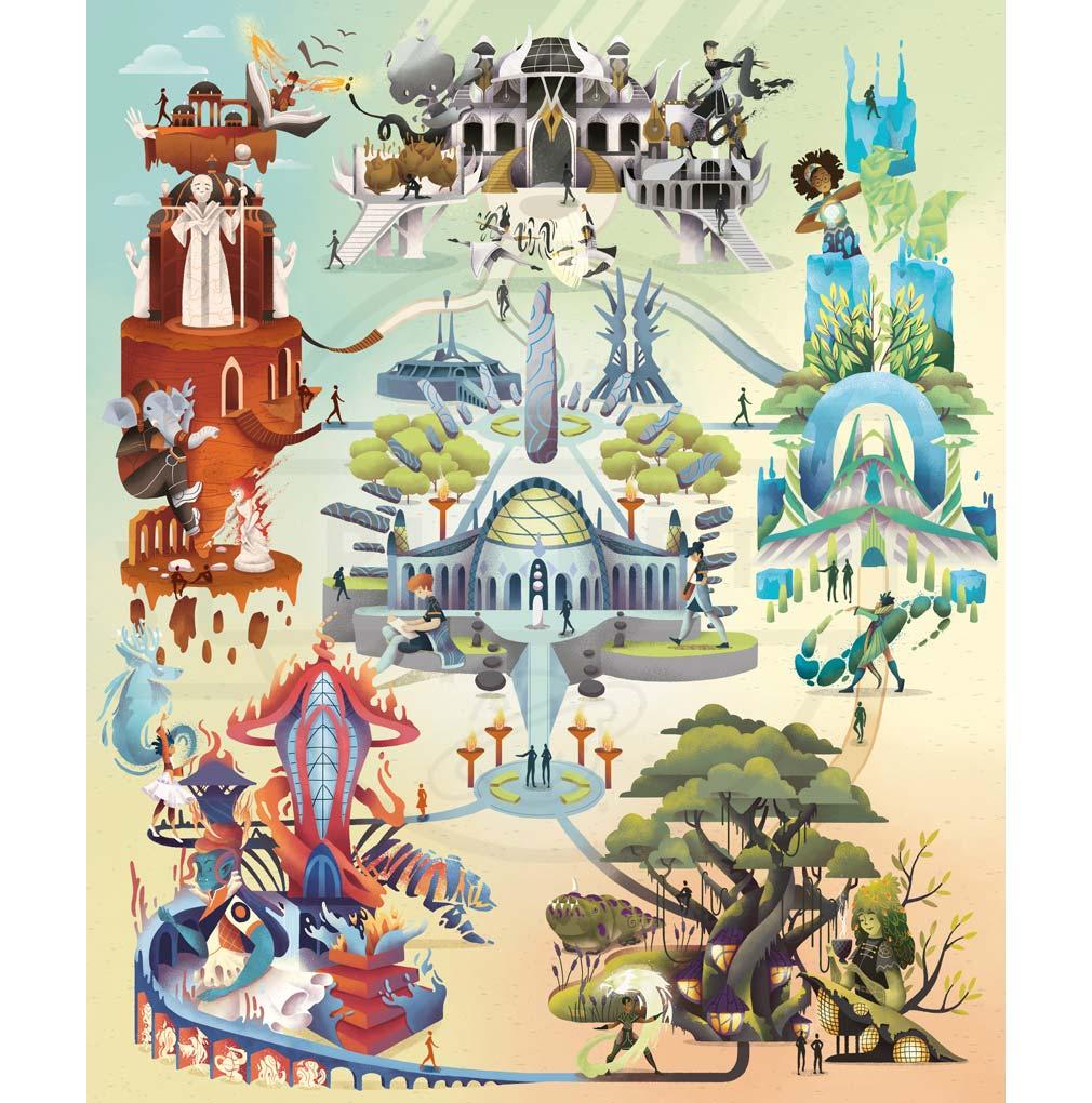 マジック ザ・ギャザリング アリーナ(MTGアリーナ) 『ストリクスヘイヴン』の大学紹介イメージ