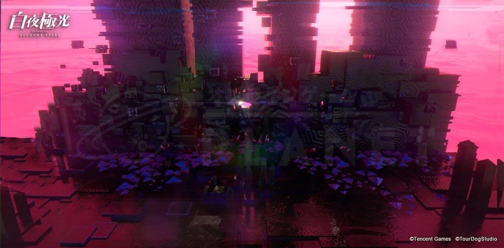 白夜極光 世界観『秘境洞穴』紹介イメージ