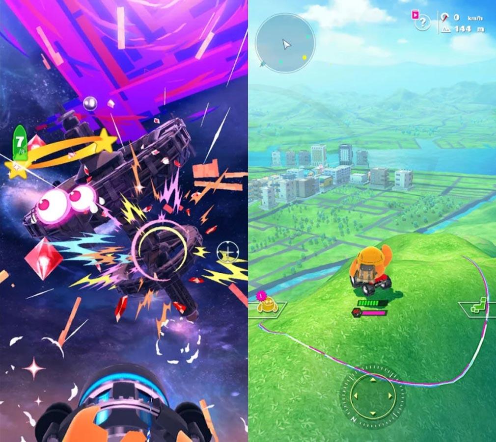 ユージェネ 『LIVE』×『GAME』が融合した新ジャンルのプレイスクリーンショット