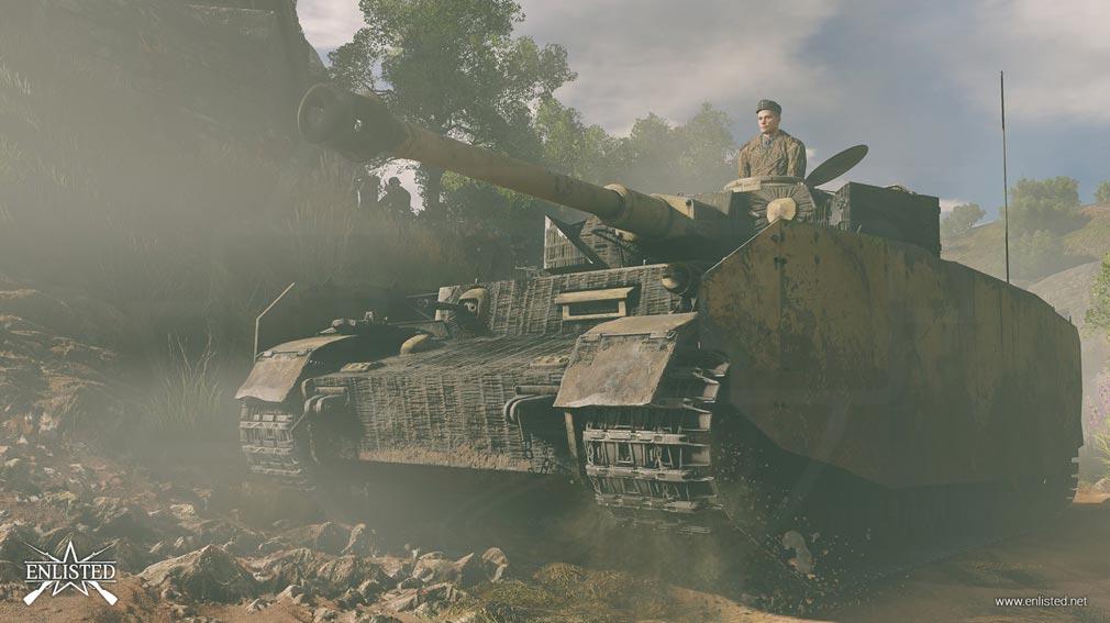 ENLISTED ドイツ車両『Pz.kpfw.IV ausf J』スクリーンショット