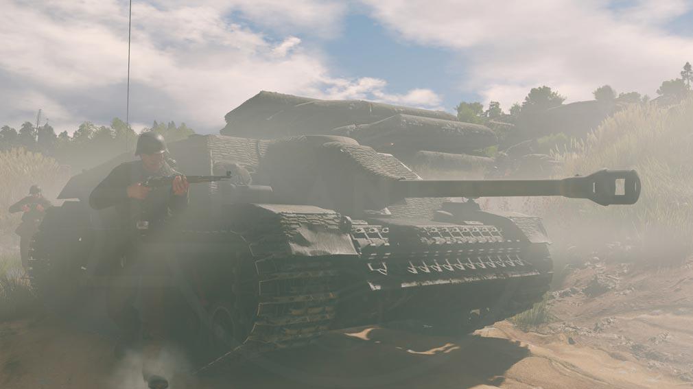 ENLISTED ドイツ車両『Panzerjager IV L48』スクリーンショット