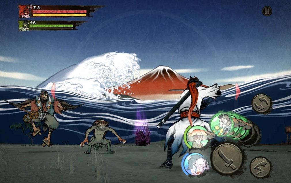 World of Demons 百鬼魔道 スマホの操作プレイスクリーンショット