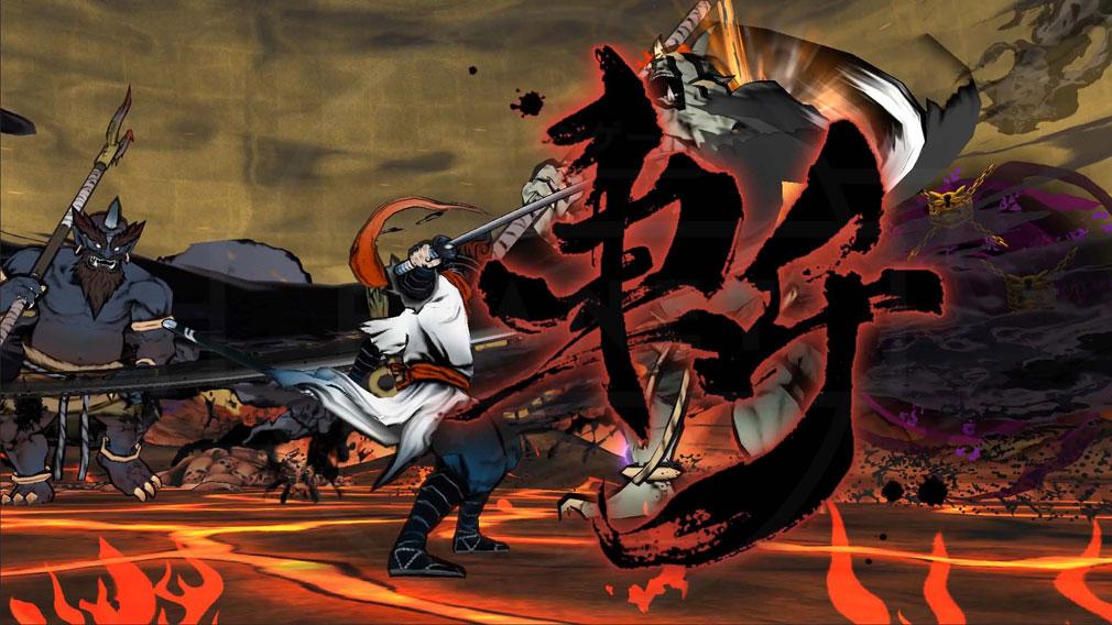 World of Demons 百鬼魔道 サムライの『奥義』スクリーンショット