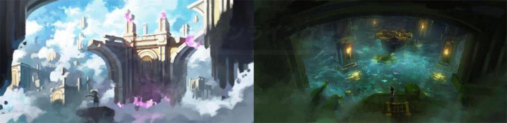 月光彫刻師 ダンジョン『歪んだ深淵』アートワーク紹介イメージ