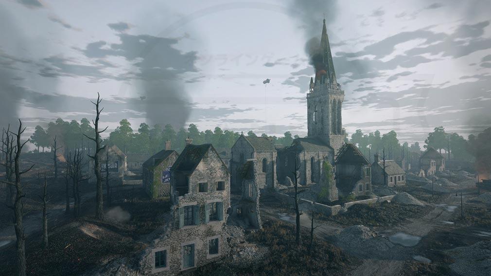 ENLISTED ノルマンディー上陸作戦で町が喪失したスクリーンショット