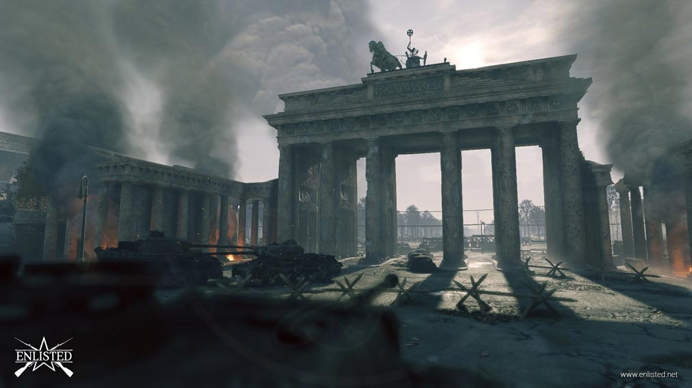 ENLISTED ベルリンの戦いフィールドスクリーンショット