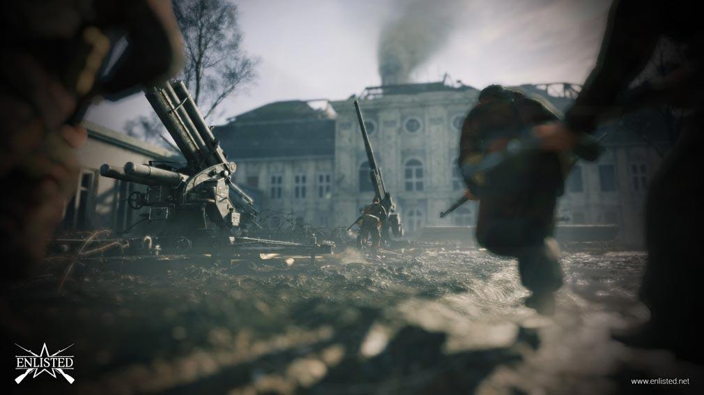 ENLISTED ベルリンの戦いバトルスクリーンショット