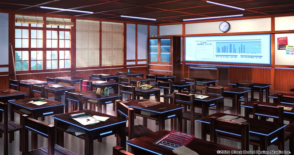 Ink on(インクオン) 『墨守高校(ぼくしゅこうこう)』教室紹介イメージ