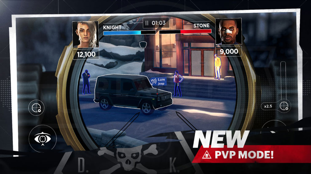 Hitman Sniper Assassins ヒットマン・スナイパー・アサシン(仮) 『PvPモード』紹介イメージ