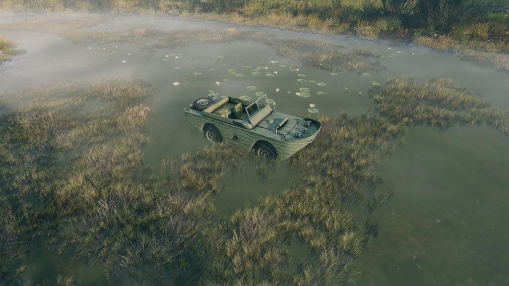 ENLISTED 水陸両用車両スクリーンショット