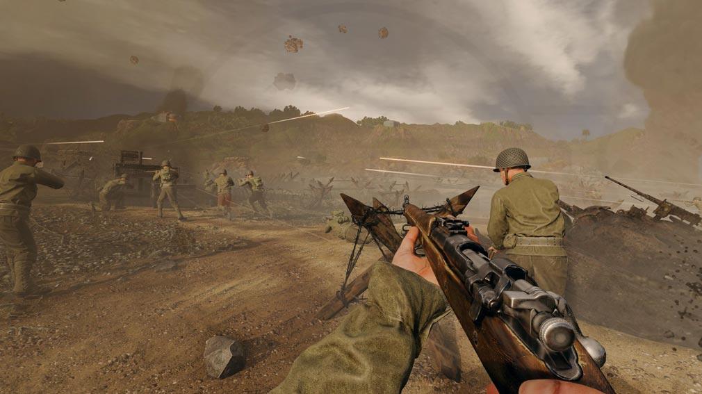 ENLISTED 大規模戦争スクリーンショット