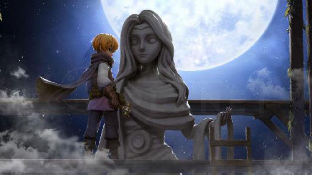 月光彫刻師 シネマティックな彫刻師紹介イメージ