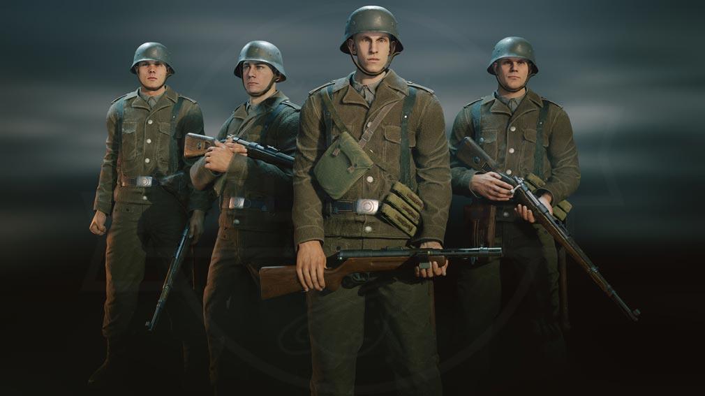 ENLISTED ノルマンディー上陸作戦『ドイツ軍』紹介イメージ