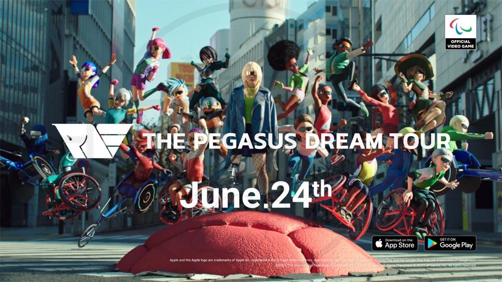 The Pegasus Dream Tour キービジュアル