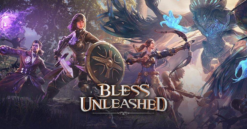 BLESS UNLEASHED PC(ブレスアンリーシュド) キービジュアル