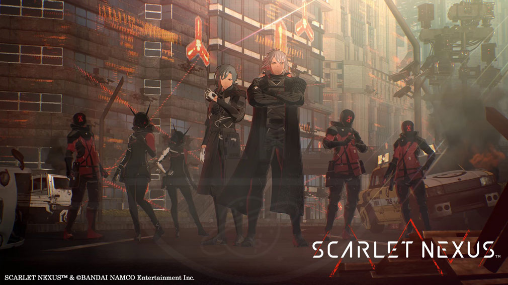 SCARLET NEXUS(スカーレットネクサス) 『怪異討伐軍』スクリーンショット
